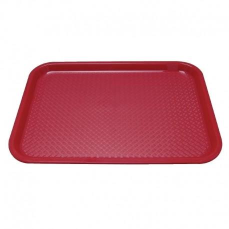Kristallon dienblad plastic 305 x 415mm rood