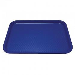 Kristallon dienblad plastic 305 x 415mm blauw