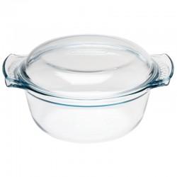 Pyrex ronde glazen casserole 1,5ltr