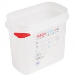 Araven GN1/9 voedseldoos met deksel 1,5L