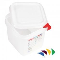Araven GN1/6 voedselbak met deksel 2,6ltr