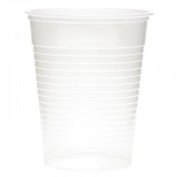 Disposable waterglazen transparant 20cl