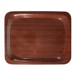 Cambro dienblad mahonie 26,5 x 32,5cm