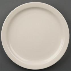 Olympia Ivory borden met smalle rand 23cm