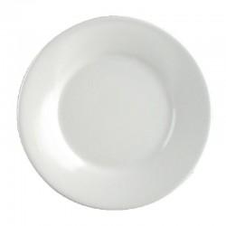 Kristallon melamine borden met brede rand 22,9cm