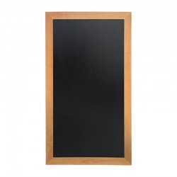 Securit lang wandbord teak effect 100 x 56cm