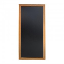Securit lang wandbord teak effect 120 x 56cm
