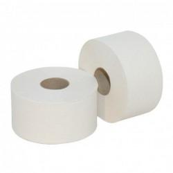 Toiletpapier Jumbo, mini cellulose, 2 laags, 12 x 160 meter in folie
