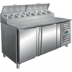 SARO Voorbereidingstafel met ventilator koeling Model SH 1500