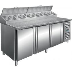 SARO Voorbereidingstafel met ventilator koeling Model SH 2000