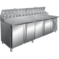 SARO Voorbereidingstafel met ventilator koeling Model SH 2500