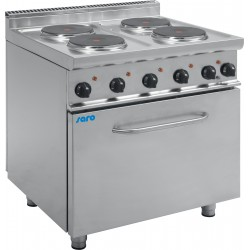 SARO Elektrische kookplaten met elektrische oven Model E7 / CUET4LE