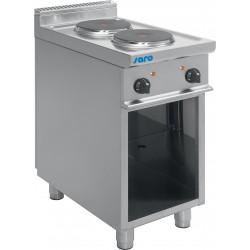 SARO Elektrische kookplaten met open onderbouw model E7/CUET2BA