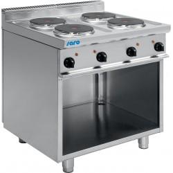 SARO Elektrische kookplaten met open onderbouw model E7/CUET4BA
