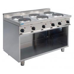 SARO Elektrische kookplaten met open onderbouw model E7/CUET6BA