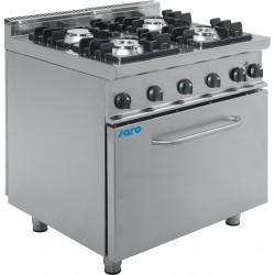 SARO Gasfornuis met elektrische oven Model E7 / KUPG4LE