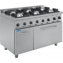 SARO Gasfornuis met elektrische oven Model E7 / KUPG6LE