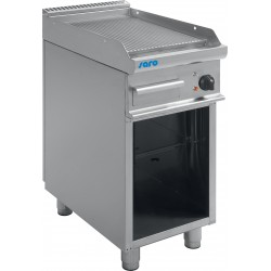 SARO Elektrische roosterplaat met open basis model E7 / KTE1BAR