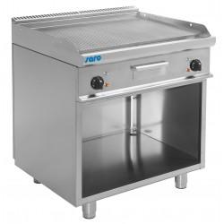 SARO Elektrische grill en bakplaat met open kast model E7 / KTE2BAR