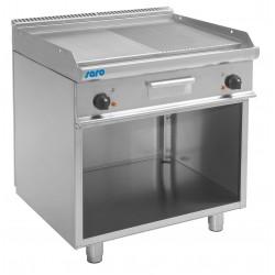 SARO Elektrische grill en bakplaat met open basis model E7 / KTE2BAM