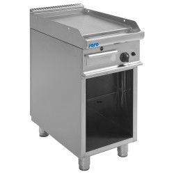 SARO Gas grillplaat met open kast model E7 / KTG1BAL