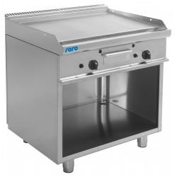 SARO Gas grill en bakplaat met open kast model E7 / KTG2BAL