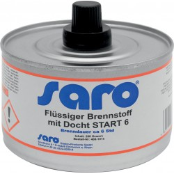 SARO Brandpasta met wick Model START 6