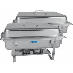SARO Chafing Dish Twin-Pack Model ELENA
