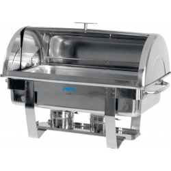 SARO Chafing Schotel Met Roll-Top Cover 1/1 GN Model DENNIS