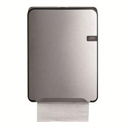 SAPO Quartz silver vouwhanddoekdispenser