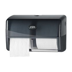 SAPO Black Line DUO compact toilethouder