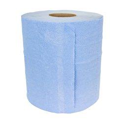 Midi rol, blauw, 2 laags