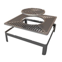 3-in-1 LARGE, Grill & Wok