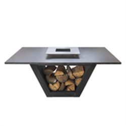 Table set for 6 Corten