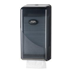 SAPO Black bulkpack dispenser t.b.v. bulkpack toiletpapier (losse vellen)