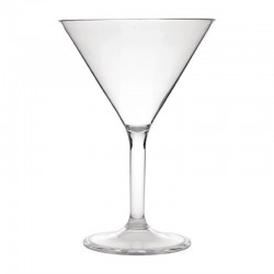 Kristallon polycarbonaat martiniglazen 30cl (12 stuks)