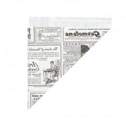 Eco frietzak krant K17x24cm 100 gram 8 x 250 (2000 stuks)