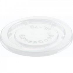 PLA deksel voor Dressing Cups Bagasse (3000 stuks)