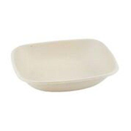 Suikerriet bowl rechthoek 600ml/19,5x17x4cm 4x125 (500 stuks)