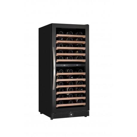 Combisteel Wijnklimaatkast 122 flessen dual zone
