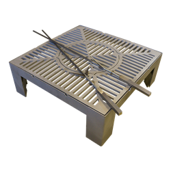3-in-1 Base (with windshield) Grill & Wok - Medium