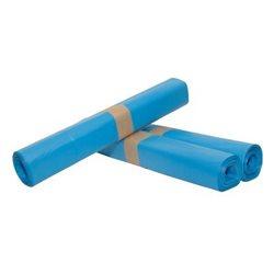 Afvalzak blauw 90x110 HDPE T25   rol a 20 stuks
