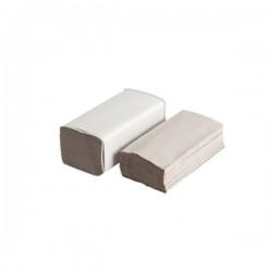 Handdoekjes V-vouw, grijs 1 laags 25 x 23 cm, (20 x 250 vel)