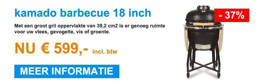 kamado barbecue 18 inch - 599 euro